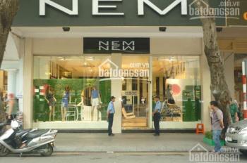 Cho thuê nhà MP Trần Hưng Đạo, DT 80m2 x 3 tầng, MT 8m, giá tốt, đoạn đẹp nhất phố, KH mọi mh