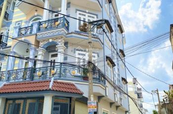Bán nhà góc 2 mặt tiền hẻm 8m, Hương lộ 2, Bình Tân, 4x18m, đúc 4 tấm, 1 trệt 3 lầu. Giá 6,1 tỷ TL