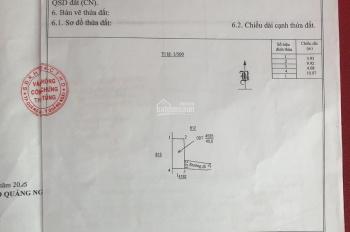 Bán nhà cấp 4 hẻm xe máy cách VinCom 200m. Giá 500tr