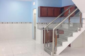 Bán căn nhà mới tinh trệt lầu 4,5x9,5 gần Hiệp Thành City giáp Q12 giá chỉ 1,35 tỷ TL LH 0989102594