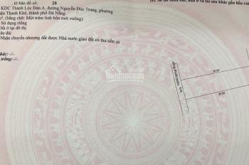 Bán đất 66 mặt tiền Nguyễn Đức Trung, Nở hậu. DT: 104m2, giá 8 tỷ 3