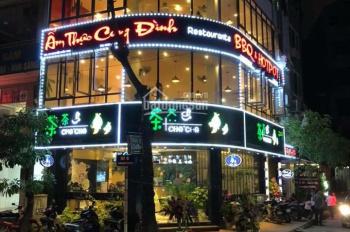 Cho thuê nhà mặt phố Trần Huy Liệu 50mx2 tầng, MT 4,5m giá thuê rẻ chỉ 23tr/tháng