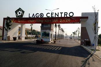 Bán đất nền sổ đỏ, 100% thổ cư dự án Lago Centro nền H - 37 - 75m2