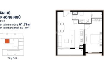 Duy nhất căn hộ 1 phòng ngủ dự án Ascent Plaza bán giá gốc thu hồi vốn - LH: 0937688123