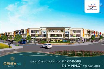 Nhà phố! Nhà phố Centa City siêu rẻ cuối cùng tại Vsip Từ Sơn, giá chỉ từ 30tr/m2