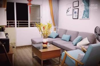 Cần bán căn hộ chung cư CT5 tầng cao khu đô thị Vĩnh Điềm Trung, 58,6m2, giá 1,3 tỷ đầy đủ nội thất