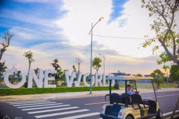 One world - đất nền biệt thự Đà Nẵng đường 20m5, giá 19tr/m2 - view sông và kênh,cách biển 200m