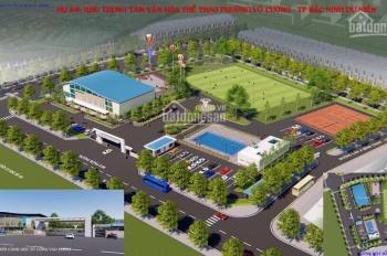 Bán lô đất duy nhất khu Bò Sơn 3 k vướng gì. Nhìn TT thể dục thể thao thuộc làn 2 Nguyễn Quyền