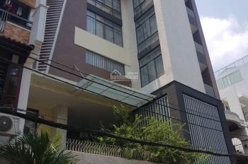 Bán biệt thự mặt tiền Lê Văn Huân, P13, Tân Bình, diện tích: 12,5x16m hầm, 5 lầu, thang máy, 53 tỷ