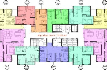 Cập nhật bảng hàng mới nhất dự án và lựa chọn căn hộ đẹp nhất tại M4 và M7