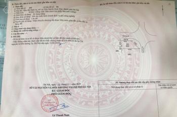 Bán lô đất dịch vụ xã Lại Yên, Hoài Đức, DT 82.8m2, lô góc 2 mặt tiền rộng. Giá 38tr/m2