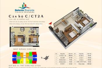Bán căn hộ 2PN 81m2 full nội thất dự án Gelexia 885 Tam Trinh