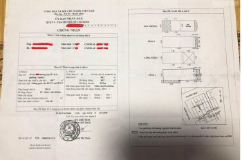 Cần bán gấp căn nhà phố đường Nguyễn Trãi, P. 7, Q. 5, DT: 4.1mx11.2, 1 trệt, 1 lửng, 2 lầu, 8.8 tỷ