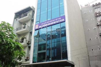 Cho thuê nhà phố Yên Lãng - Đống Đa, 130m2,8 tầng + 1 hầm, thông sàn