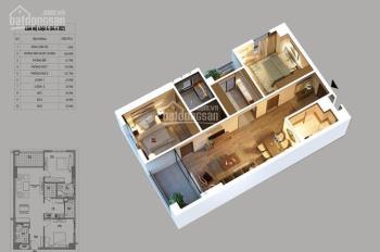 Bán căn 3PN 104m2 full NT chung cư Northern Diamond đối diện Aeon Mall, giá chỉ 2.424tỷ, HT vay 70%