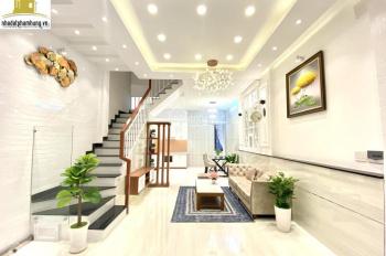 Bán nhà đúc 4 tấm kiểu hiện đại sang chảnh 2020 full nội thất đường Quang Trung, quận Gò Vấp