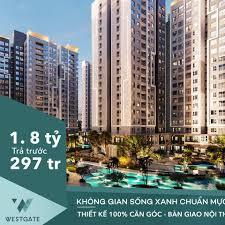 Chỉ 270tr sở hữu ngay căn hộ 2pn/60m2 tại West Gate trung tâm Bình Chánh. CK 18%. LH: 0343;388;788