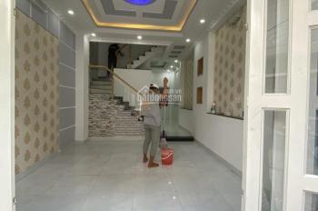 Cho thuê nhà 3 lầu dài hạn tại hẻm xe hơi số 67/45/1 đường Đào Tông Nguyên, KP7, TT Nhà Bè