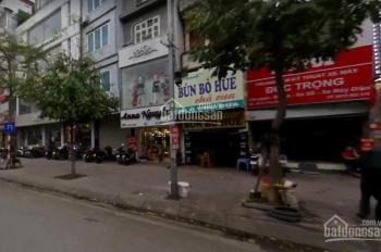 Cho thuê cửa hàng phố Ô Chợ Dừa, Đống Đa 44m2 x 2T MT 5m, vỉa hè rộng để xe thoải mái. 090.210.2881