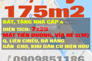 Với 2,1 tỷ có ngay 175m2 đất mặt tiền đường, có sẵn 2 nhà cấp 4