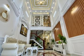 Bán biệt thự phố mặt tiền full nội thất có cầu thang máy ngay đường Dương Quảng Hàm p 5 Gò Vấp