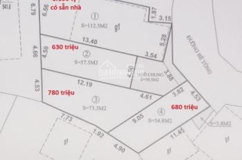 Bán đất 630 triệu ngõ 28 Phường Cao Xanh, Thành Phố Hạ Long, Quảng Ninh