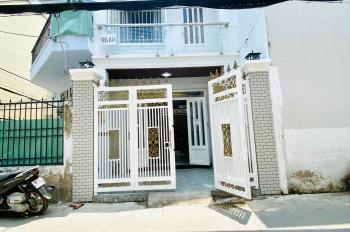 Nhà sổ hồng riêng vay ngân hàng, 04x12m, trệt lầu, hẻm chính, phù hợp kinh doanh buôn bán.