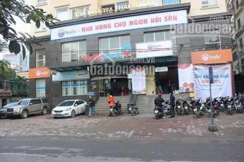 Cho thuê sàn tầng 1,2 chung cư 196 Thái Thịnh.