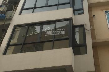 Cho thuê nhà ngõ phố Nguyễn Trãi, Thanh Xuân, 50m2 7 tầng, MT 5m thông sàn, thang máy. Giá 35tr/th