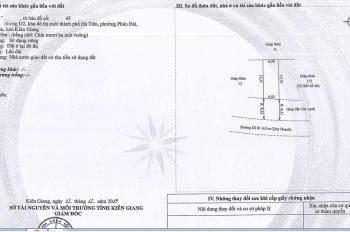 cần bán lô đất 6x15,5, Sổ Đỏ rồi, MT đường số 6, cạnh loteria Hà Tiên giá 13,5tr/m2