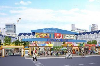 Đất chợ Bàu Xéo, mặt tiền Quốc Lộ 1A, TTHC Trảng Bom, chỉ 1,2 tỷ/nền, CK 20 chỉ vàng SJC