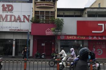 Cầm cho thuê nhà MT Quang Trung, DT 4.6x25m, 5 phòng, giá thuê 45tr, đối diện chợ Hạnh Thông Tây