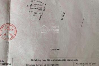 Bán đất mặt tiền ĐT747B, Tân Phước Khánh, Tân Uyên, Bình Dương