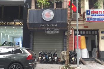 Cho thuê nhà mặt phố Trần Huy Liệu, giá thuê khá rẻ, 45m2 x 2 tầng, mt 4.5m, giá 23tr/th
