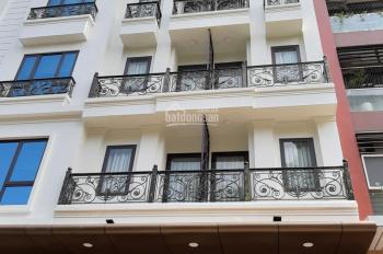 Cho thuê nhà mặt phố Nguyễn Xiển, Thanh Xuân, DT 160m2, 8 tầng, MT 7m, thang máy. Giá 120tr/th