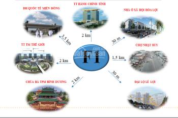 Cần bán đất nền khu dân cư Hòa Lợi, Thành Phố Mới, Bình Dương, LH 0936 5353 39
