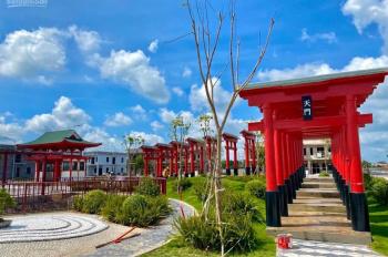 2 lô đất đẹp view công viên trong KĐT Nhật bản tiện kinh doanh cafe - trà sữa DT 6x20m. Hướng Nam
