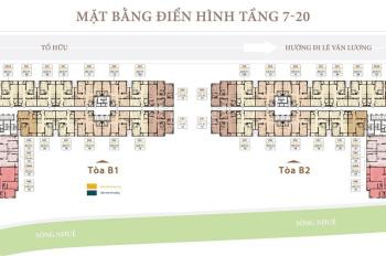 Chính chủ chuyển đổi công tác cần bán căn hộ 2PB 2WC giá tốt chung cư Roman Plaza