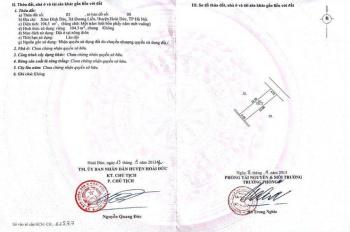 Chính chủ bán gấp lô đất ở xã Dương Liễu - Hoài Đức - Hà Nội với giá 38 triệu/m2, LH: 0364780051