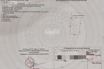 Cần bán lô đất kiệt 2m Trưng Nữ Vương, TT quận Hải Châu, Đà Nẵng. DT 65,5m2, giá chỉ 2.15 tỷ