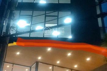 Cho thuê tòa nhà văn phòng mặt tiền Lam Sơn, P. 2, Tân Bình, DT 9x27m, hầm 7 lầu, giá 260tr/th
