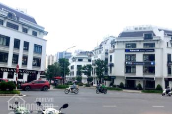 Cho thuê tầng 1 + 2 Shophouse Vinhome Gardenia mặt phố Ngã tư Hàm Nghi 126m2 x 2T thông sàn cực đẹp