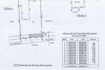Chính chủ bán nhà 494/1/11 Lê Quang Định, Gò Vấp, DT 14x30m, giá 28.5 tỷ(chỉ 70tr/m2) - 0989082092