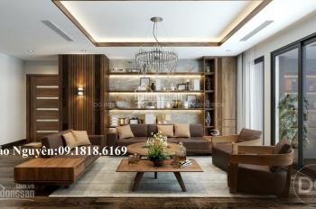 Bán căn hộ 185m2, 4PN, 3WC tòa CT1 khối thấp tầng Mỹ Đình Sông Đà căn góc BC ĐN - TN giá 4 tỷ sổ đỏ