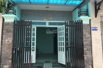 Cho thuê nhà nguyên căn Q12, gần Nguyễn Văn Quá - sân banh Cây Sộp