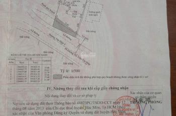 Chính chủ cần bán đất đường Tân Hiệp 4, Ấp Thới Tây 2 ,xã Tân Hiệp, Hóc Môn.LH Chị Quỳnh 0938914815