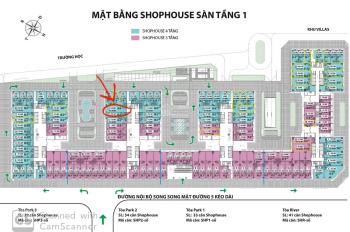 CC cần bán gấp căn shophouse đẹp nhất dự án Eurowindow Đông Trù. 238.9 m2, 30tr/m2