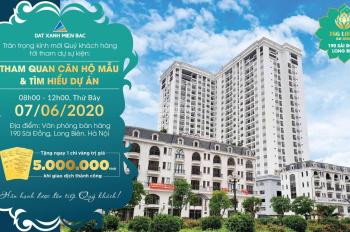 Mở bán ngày 7/6 tại TSG Lotus Sài Đồng - tặng ngay 5.000.000 đồng khi giao dịch thành công