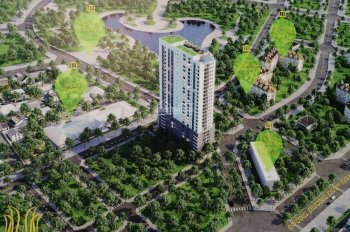 Bán sàn thương mại dịch vụ văn phòng chung cư Luxury Park View khu ĐTM Cầu Giấy view công viên