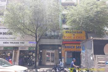 Cho thuê góc 2 MT Nguyễn Thiện Thuật, Q3, 12x6m, 4 lầu thang máy, hẻm KD đông đúc, giá 70 tr/th